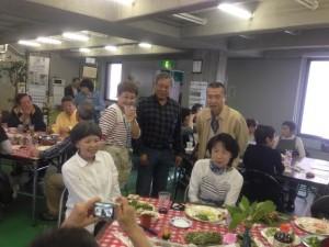 2015年山菜パーティ9